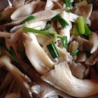 清炒平菇的做法