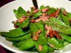 荷兰豆炒午餐肉的做法