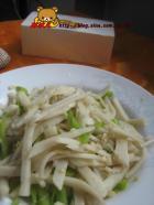 青椒炒笋丝的做法