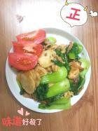 青菜炒年糕的做法
