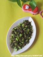 咸菜毛豆子的做法