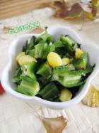 白果炒四角豆的做法