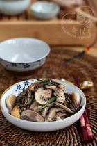 香黑椒炒杂菌的做法