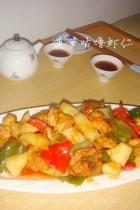 菠萝咕噜虾仁的做法