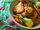 豆豉辣炒年糕的做法