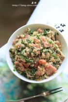 韭菜炒豆腐渣的做法