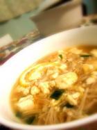 金针菇豆腐煮的做法