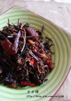 蕨菜干炒腊肉的做法