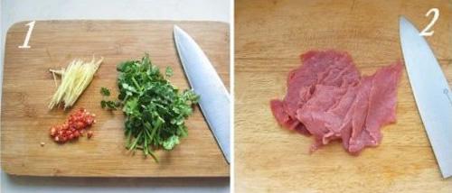 第2步泰式酸辣牛肉的家常做法图片步骤