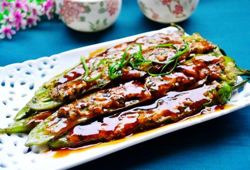 川味下饭菜虎皮辣椒的做法图解,如何做,虎皮辣椒怎么做好吃
