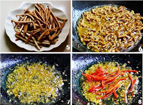 第3步香干炒肉丝的家常做法图片步骤