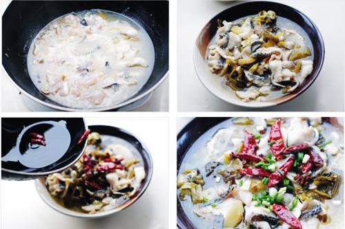 第4步酸菜鱼的家常做法图片步骤