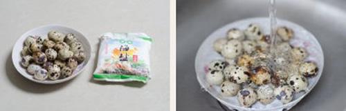 第2步盐焗鹌鹑蛋的家常做法图片步骤