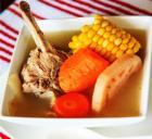 猪骨莲藕玉米汤的做法