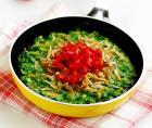 韭菜虾皮黄豆饼的做法