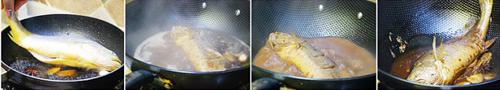 第3步烧黄花鱼的家常做法图片步骤