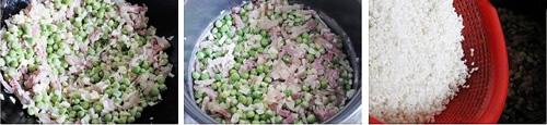 第5步立夏不可缺少的一碗豌豆饭的家常做法图片步骤