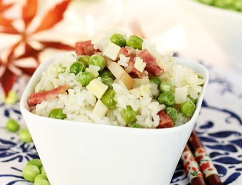 第7步立夏不可缺少的一碗豌豆饭的家常做法图片步骤