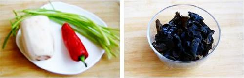 第2步木耳炒藕的家常做法图片步骤