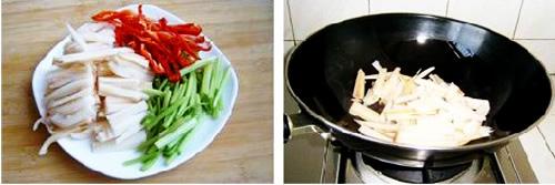 第3步木耳炒藕的家常做法图片步骤