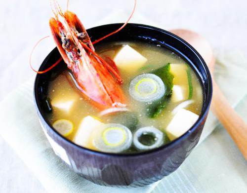 虾头米味噌汤的做法图解,如何做,虾头米味噌汤怎么做好吃
