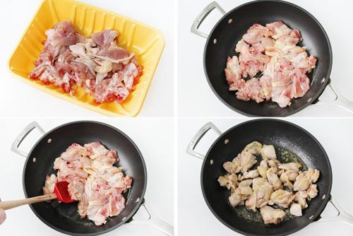 第2步法式白汁烩鸡的家常做法图片步骤