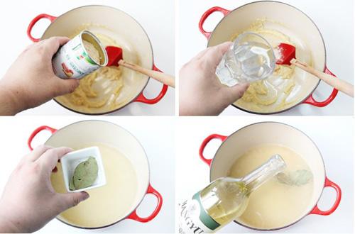 第3步法式白汁烩鸡的家常做法图片步骤