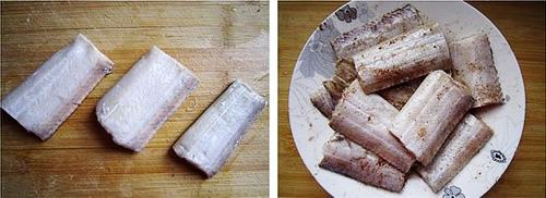 第3步干煎带鱼的家常做法图片步骤