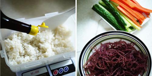 第3步海草寿司的家常做法图片步骤