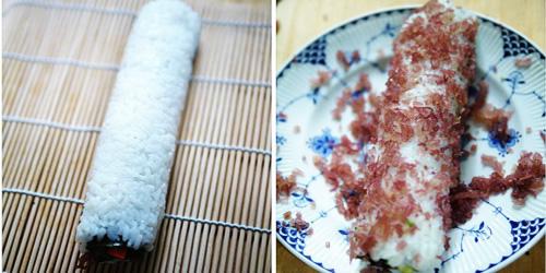 第5步海草寿司的家常做法图片步骤