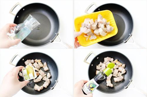 第4步干豆角红烧肉的家常做法图片步骤