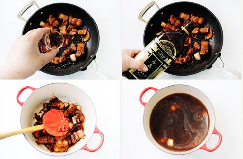 第5步干豆角红烧肉的家常做法图片步骤