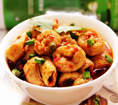 川味下饭菜麻辣烧肥肠的做法图解,如何做,麻辣烧肥肠怎么做好吃