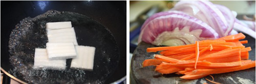 第2步韩式炒年糕的家常做法图片步骤