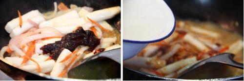 第4步韩式炒年糕的家常做法图片步骤