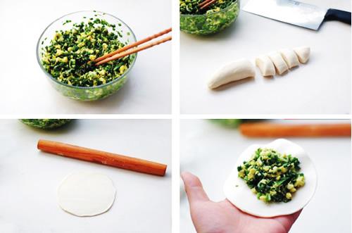 第3步韭菜盒子的家常做法图片步骤