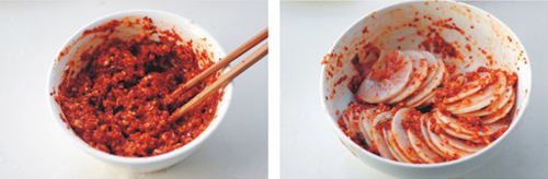 第6步脆辣爽口的韩式辣萝卜的家常做法图片步骤