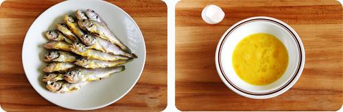 第2步炸黄花鱼的家常做法图片步骤