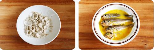 第3步炸黄花鱼的家常做法图片步骤
