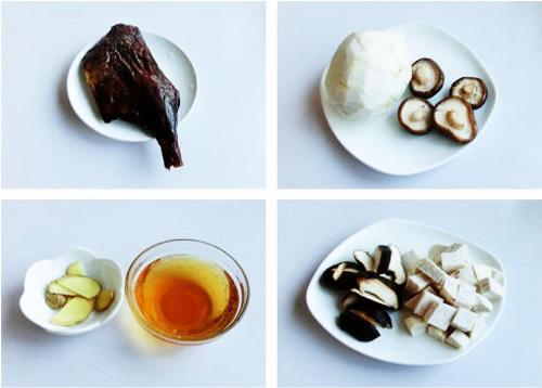 第2步腊鸭腿香芋汤的家常做法图片步骤