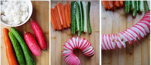 第2步紫菜饭卷的家常做法图片步骤