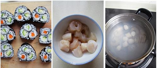 第5步紫菜饭卷的家常做法图片步骤