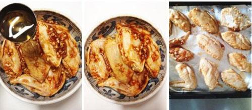 第4步烤鸡翅的家常做法图片步骤
