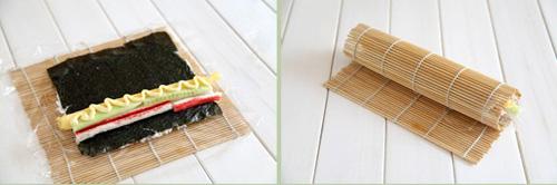 第3步鱼籽酱寿司的家常做法图片步骤