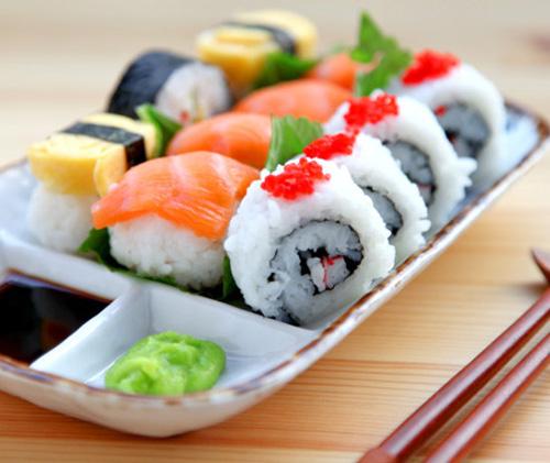 第5步鱼籽酱寿司的家常做法图片步骤