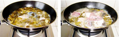 第5步酸菜鲤鱼的家常做法图片步骤