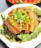 腐乳冬菜扣肉的做法