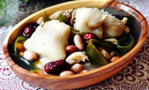 海带花生猪蹄汤的做法图解,如何做,海带花生猪蹄汤怎么做好吃