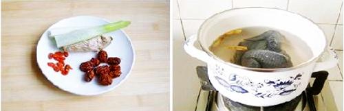 第3步最有营养的红枣乌鸡汤的家常做法图片步骤