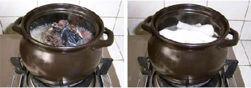 第4步最有营养的红枣乌鸡汤的家常做法图片步骤
